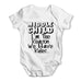 Middle Child The Reason We Have Rules Baby Grow Bodysuit