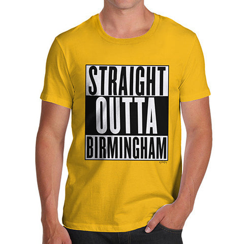 Men's Straight Outta Birmingham T-Shirt
