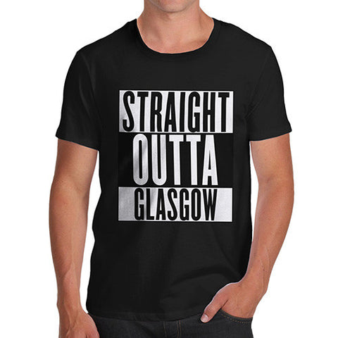 Men's Straight Outta Glasgow T-Shirt