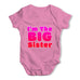 I'm The Big Sister Baby Grow Bodysuit