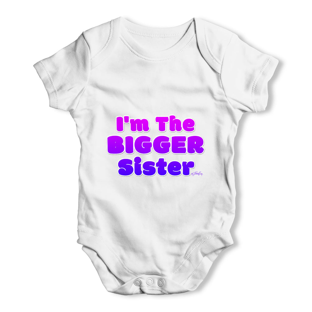 I'm The Bigger Brother Baby Grow Bodysuit