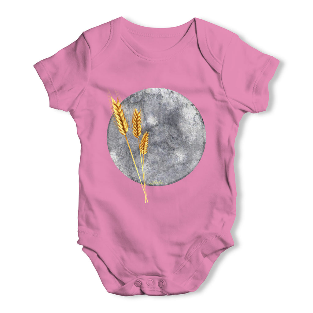 Grey Moon Baby Grow Bodysuit