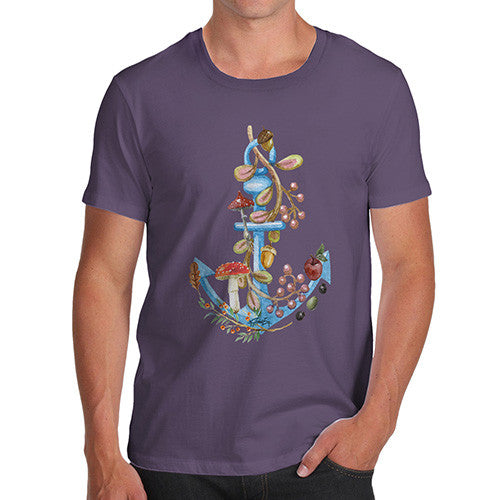Men's Anchor Lost at Sea T-Shirt