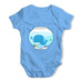 Whale in a Fishbowl Baby Grow Bodysuit