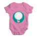 Moon Hot Air Balloon Baby Grow Bodysuit