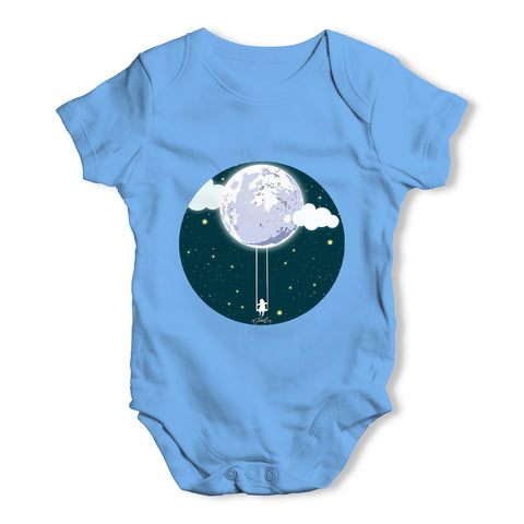 Full Moon Swing Baby Grow Bodysuit
