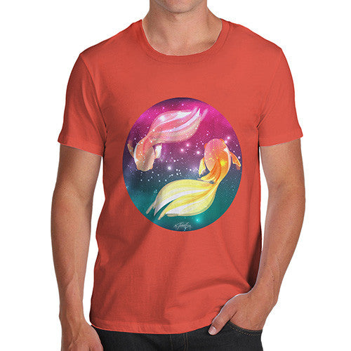 Men's Fish In Space T-Shirt