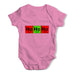 Periodic Table Ho Ho Ho Baby Grow Bodysuit