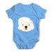 Marilyn Monroe Bear Baby Grow Bodysuit