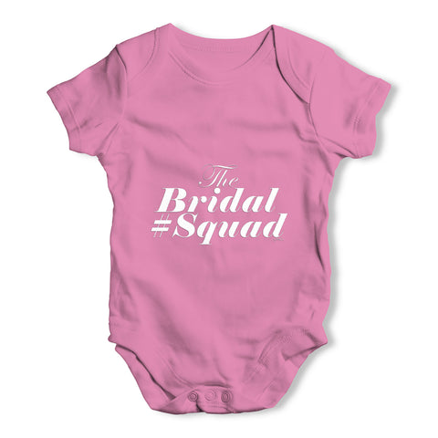 The Bridal Squad Baby Grow Bodysuit