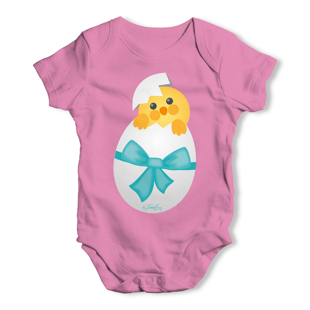 Hatching Easter Chick Baby Grow Bodysuit