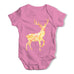 Patterned Stag Baby Grow Bodysuit