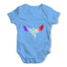Colourful Geometric Falcon Baby Grow Bodysuit