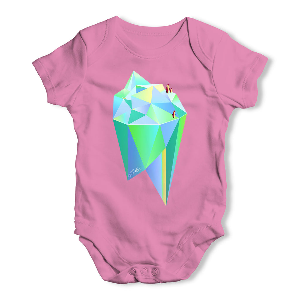 Penguins On An Iceberg Baby Grow Bodysuit