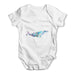 Geometric Whale Baby Grow Bodysuit