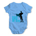 Dad My Hero Baby Grow Bodysuit
