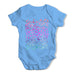 Rainbow Rain Baby Grow Bodysuit
