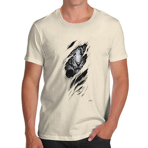 Ripped Tiger Men's T-Shirt
