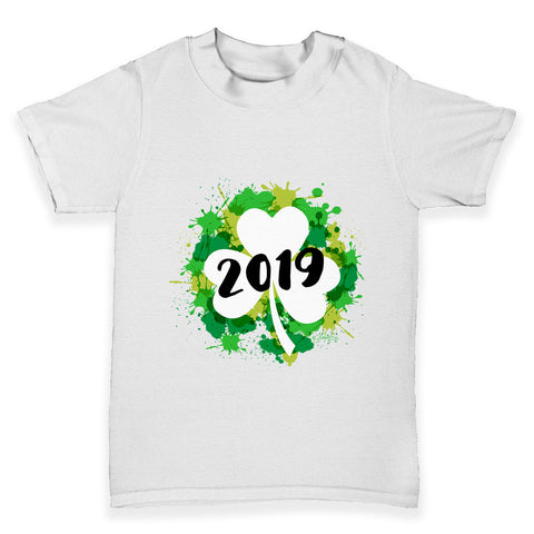 St Patrick's Day Clover Year Baby Toddler T-Shirt