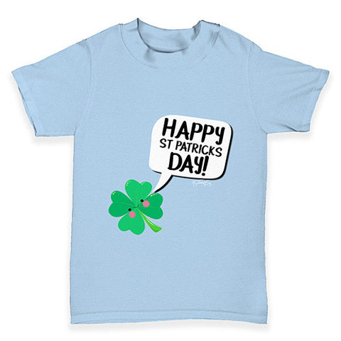 Cute Clover St Patrick's Day Baby Toddler T-Shirt