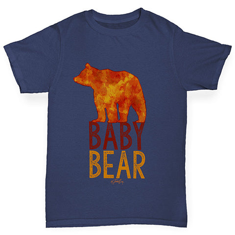 Baby Bear Silhouette Girl's T-Shirt