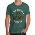 Army My Dad Is My Hero Men's T-Shirt