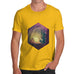 Camping Hexagon Night Time Men's T-Shirt