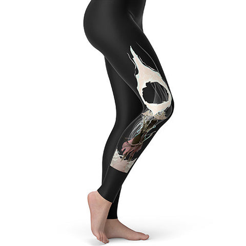 Fantasy Elf Archer Dragon Women's Leggings