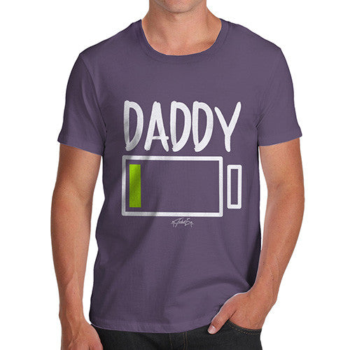 Daddy Low Battery Men's  T-Shirt