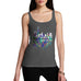 Chicago Skyline Ink Splats Women's Tank Top