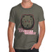 All American Grizzly Men's T-Shirt