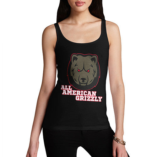 All American Grizzly Women's Tank Top