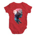 Cosmic Mountain Woman Baby Unisex Baby Grow Bodysuit