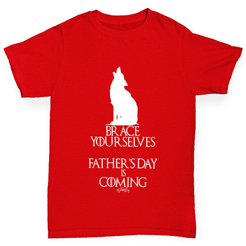 Father's Day Is Coming Boy's T-Shirt