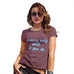 Funny T Shirts For Women Dreams Only Work If You Do Women's T-Shirt Small Burgundy