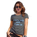 Funny Gifts For Women Dreams Only Work If You Do Women's T-Shirt Medium Dark Grey