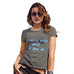 Funny T-Shirts For Women Sarcasm Dreams Only Work If You Do Women's T-Shirt Large Khaki
