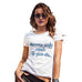 Funny T-Shirts For Women Dreams Only Work If You Do Women's T-Shirt Large White