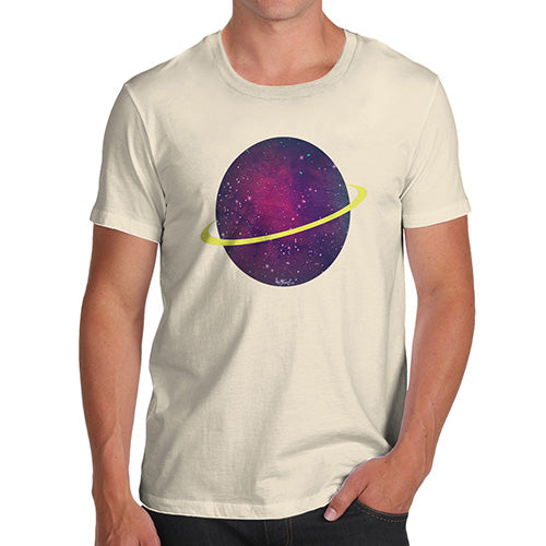 Mens Humor Novelty Graphic Sarcasm Funny T Shirt Space Planet Men's T-Shirt Small Natural