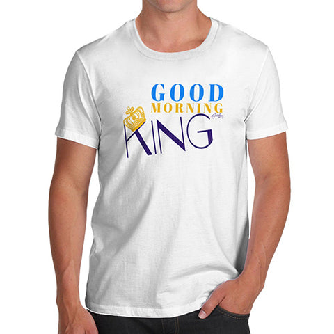 Good Morning King Men's T-Shirt
