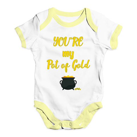 ST Patricks Day Your My Pot Of Gold Baby Unisex Baby Grow Bodysuit