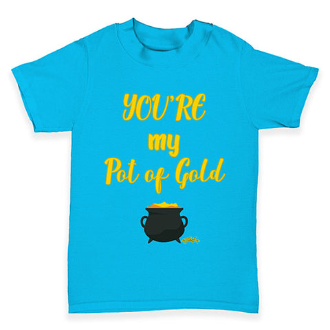 ST Patricks Day Your My Pot Of Gold Baby Toddler T-Shirt
