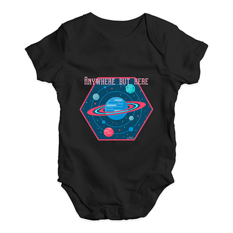 Anywhere But Here Baby Unisex Baby Grow Bodysuit