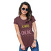 Funny T-Shirts For Women Sarcasm Always Online Women's T-Shirt Small Burgundy
