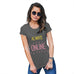 Womens Funny Tshirts Always Online Women's T-Shirt X-Large Dark Grey