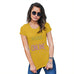 Womens Novelty T Shirt Always Online Women's T-Shirt X-Large Yellow