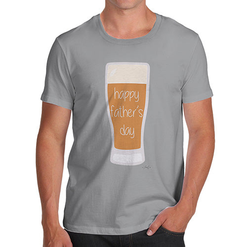 Funny Gifts For Men Happy Fathers Day Beer Mens T Shirt Small