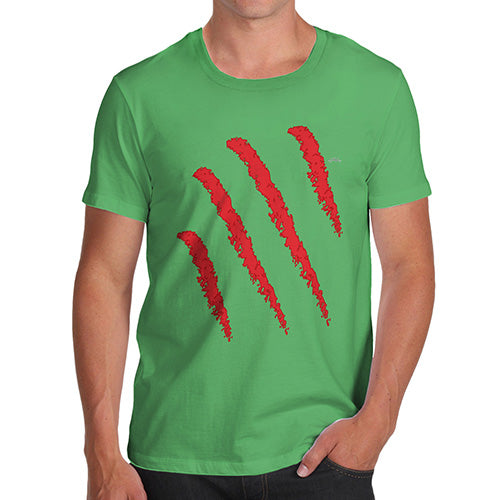 Funny T-Shirts For Guys Slasher Men's T-Shirt X-Large Green