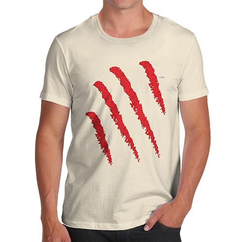 Funny Mens T Shirts Slasher Men's T-Shirt Small Natural