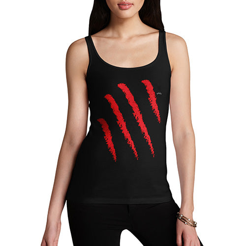 Funny Tank Top For Women Slasher Women's Tank Top Small Black